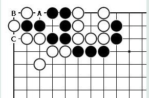 围棋对杀中气数的计算方法和公式口诀