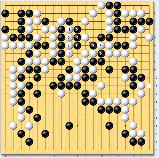 【少儿围棋教学】瞄着两处的思路