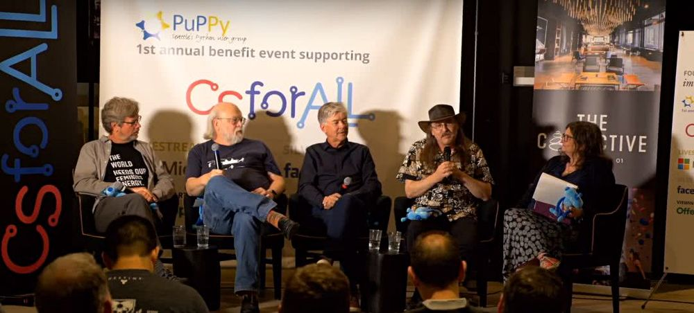 Python、Java、C#、C++、Perl 语言创始人长什么样?