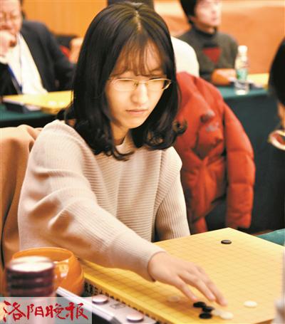 洛阳围棋职业棋手王倩钰