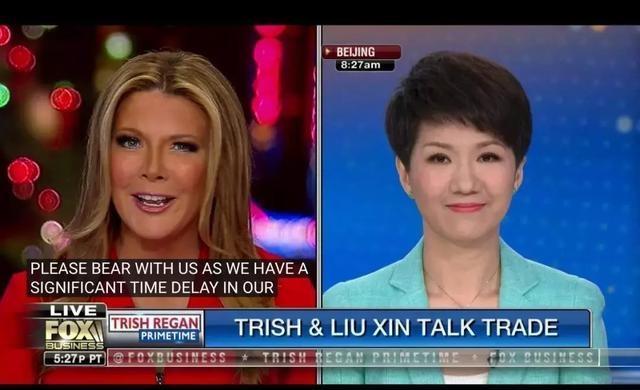 """中美女主播""""对辩""""全文"""