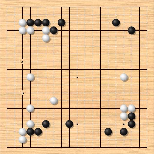 围棋打入与侵消的选择判断
