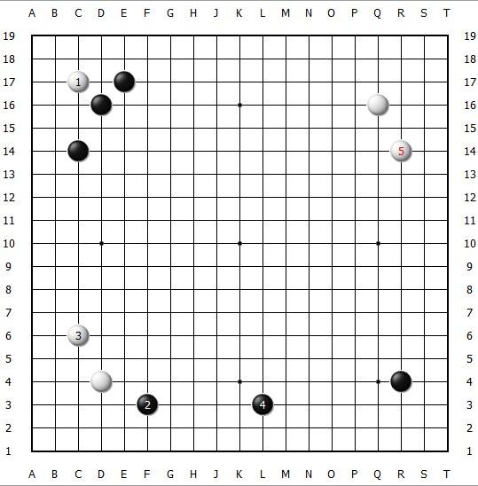 阿尔法狗围棋十诀之一:没事点三三