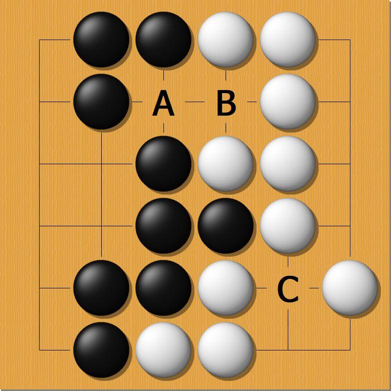围棋数子点目规则