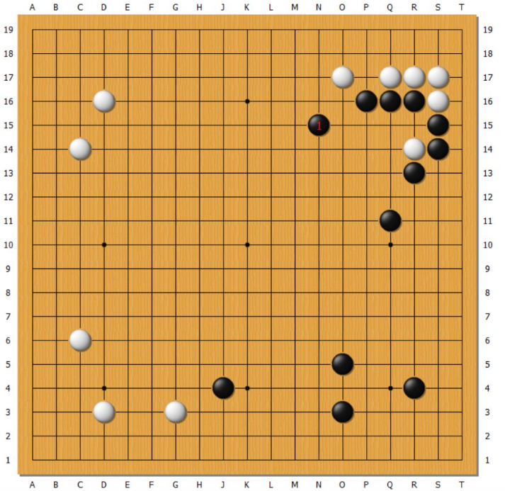 【围棋中盘的思路】用腾挪侵消大模样