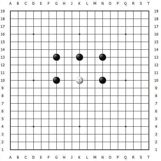 阿尔法狗围棋十诀之二:轻易不拆边