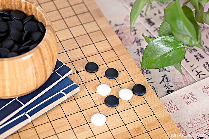 用阿Q围棋和孩子练习面棋
