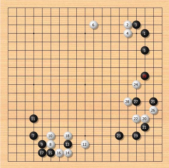 AI新定式【俗手尖顶变好手】