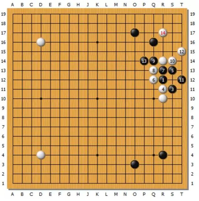 围棋AI布局——二路鬼手小尖(二)