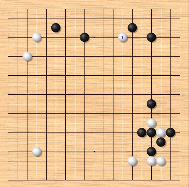 【AI围棋攻击法1】对付肩冲-先镇后爬