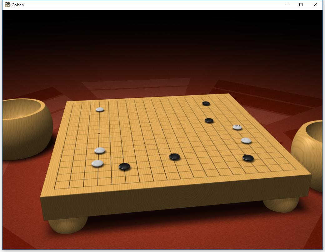 精美3D围棋GUI界面【goban】可加载leela