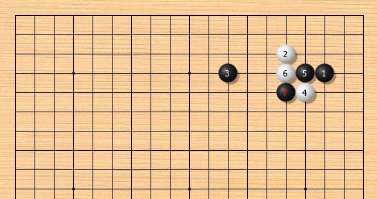 AI定式:小目低挂二间高夹飞压冲断(一)
