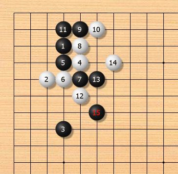 【围棋AI定式】小目小飞挂二间高夹-飞罩