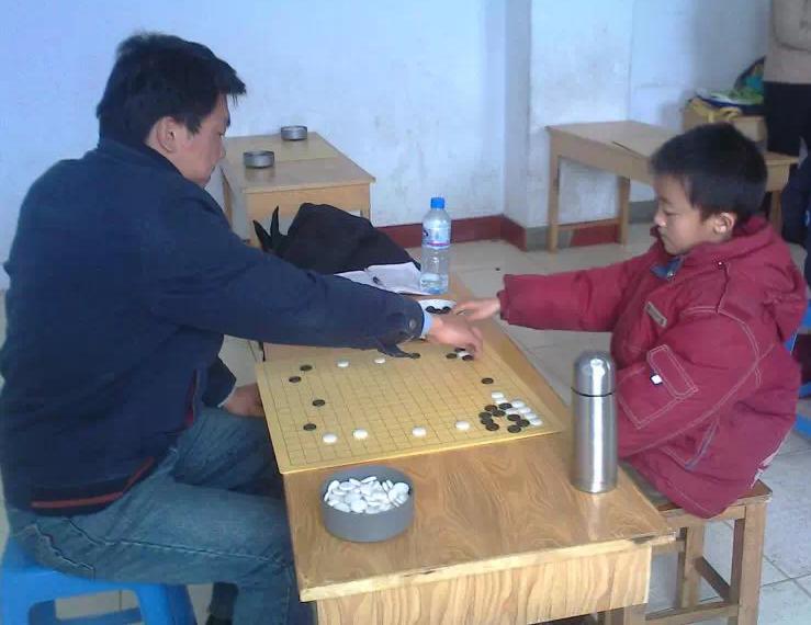 我的第一次面棋